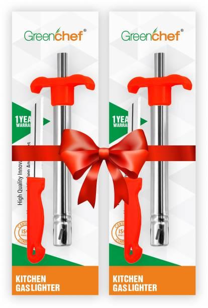 Greenchef Lighter Knife Steel Gas Lighter