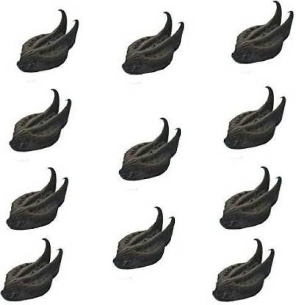 BANRUJJEDER ORCHID BAGAN PRIVATE LIMITED Natural 11 pieces Sacred Bat Head Root Seeds - Baghnokhi - Wood Devil - Evil Pods