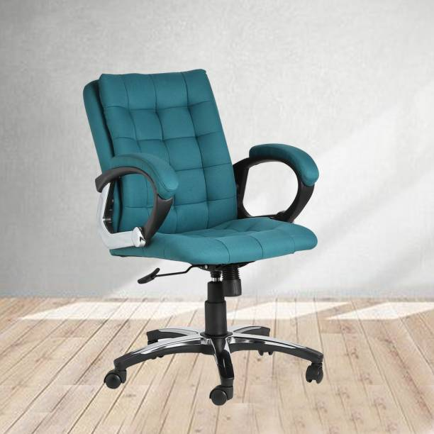 VJ Interior Polyester Office Arm Chair