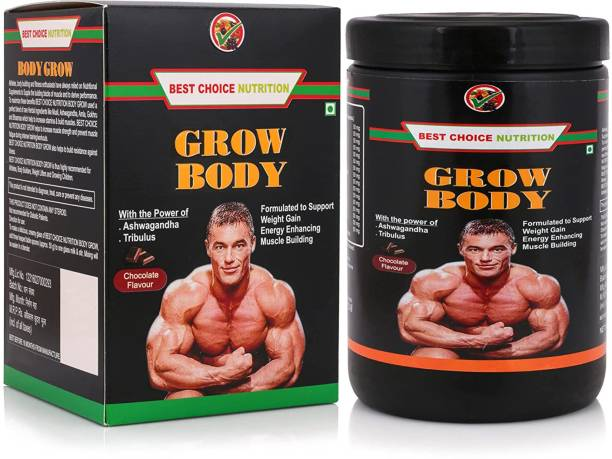 BEST CHOICE NUTRITION BODY GROW Whey Protein FOR WEIGHT GAIN MUSCLE BUILDING AND MUSCLE MASS GAIN Whey Protein