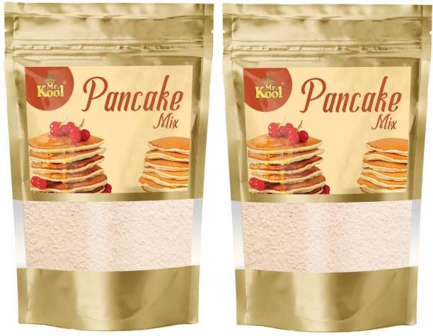 Mr.Kool Instant Pancake Mix Ready to Make 200g Combo Pack (100g Each) 200 g