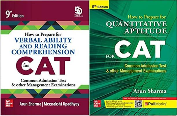 How To Prepare For Verbal Ability And Reading Comprehension For CAT | 9th Edition With How To Prepare For QUANTITATIVE APTITUDE For CAT | 9th Edition