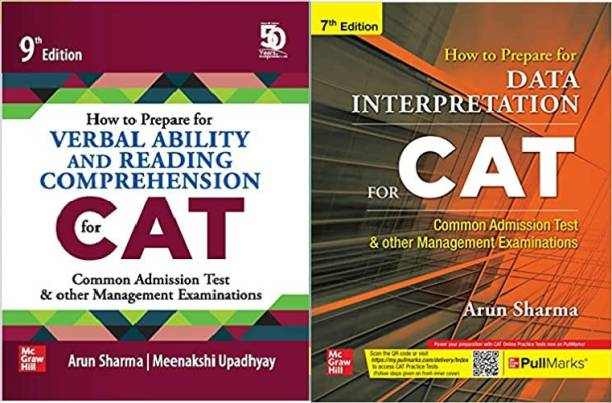 How To Prepare For Verbal Ability And Reading Comprehension For CAT | 9th Edition With How To Prepare For DATA INTERPRETATION For CAT | 7th Edition