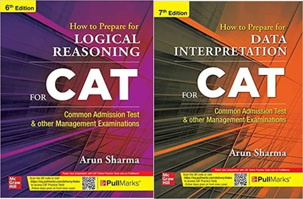 How To Prepare For LOGICAL REASONING For CAT | 6th Edition With How To Prepare For DATA INTERPRETATION For CAT | 7th Edition