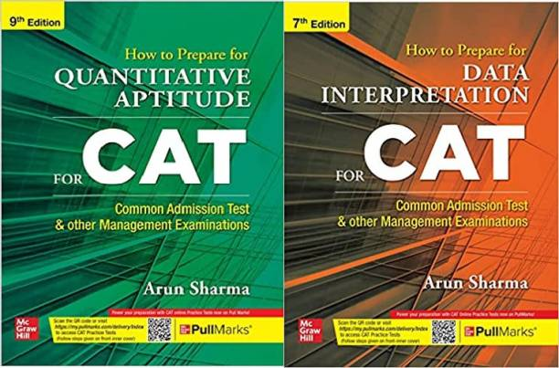 How To Prepare For QUANTITATIVE APTITUDE For CAT | 9th Edition With How To Prepare For DATA INTERPRETATION For CAT | 7th Edition