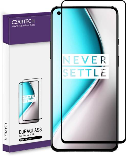 CZARTECH Edge To Edge Tempered Glass for OnePlus 9, Oneplus 9R