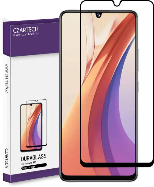 CZARTECH Edge To Edge Tempered Glass for Samsung Galaxy M32