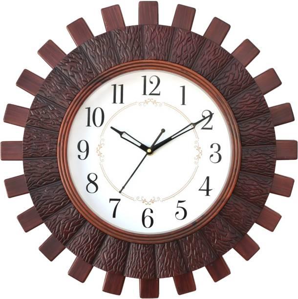Masstone Analog 40.5 cm X 40.5 cm Wall Clock