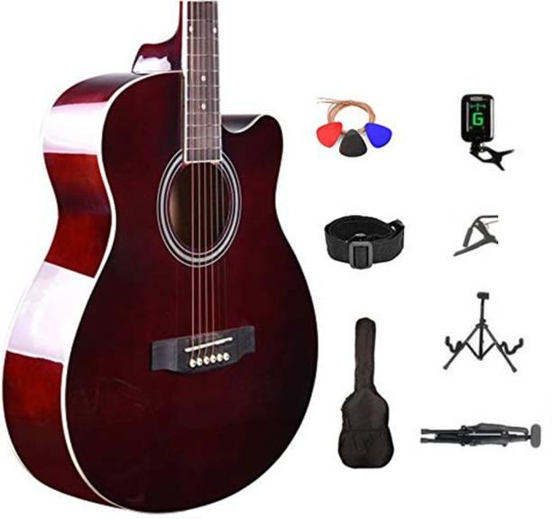 KADENCE KAD-FNTR-BRN-SC Acoustic Guitar Linden Wood Rosewood Right Hand Orientation