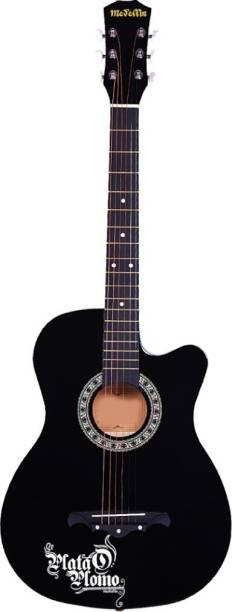 Medellin MED-BLK-C Acoustic Guitar Linden Wood Rosewood Right Hand Orientation