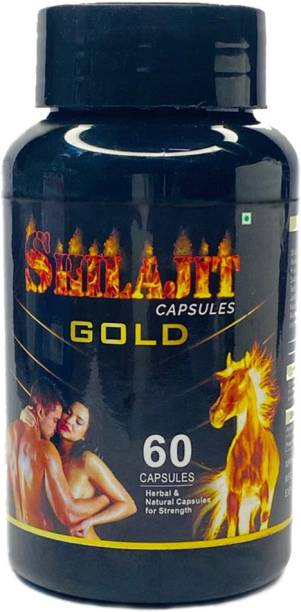 Redtize Shilajit Gold Capsules For Helps To Increase Male Performance 100% Ayurvedic