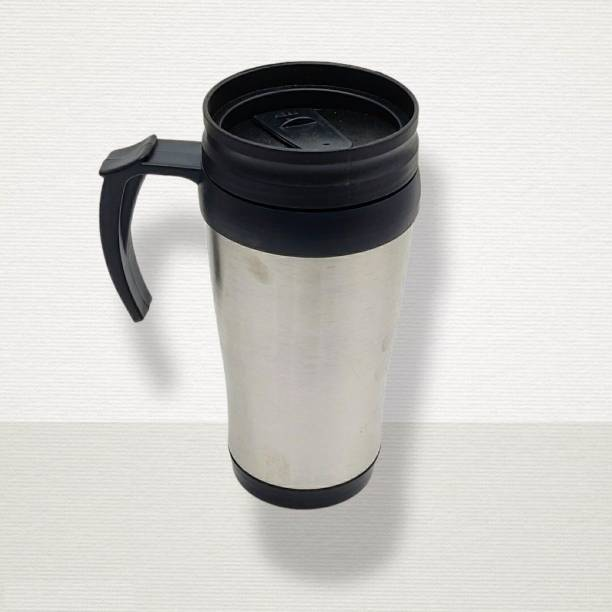 Art N Soul Insulated stainless steel mug with coffee and Tea 450 ml Flask