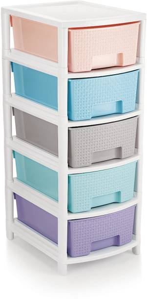 Liza Plastic Free Standing Chest of Drawers