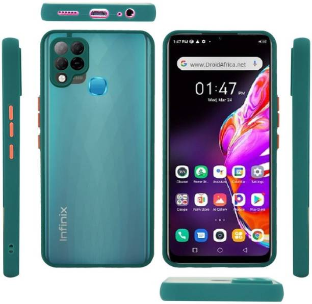 ROSALINE Back Cover for Infinix Hot 10s