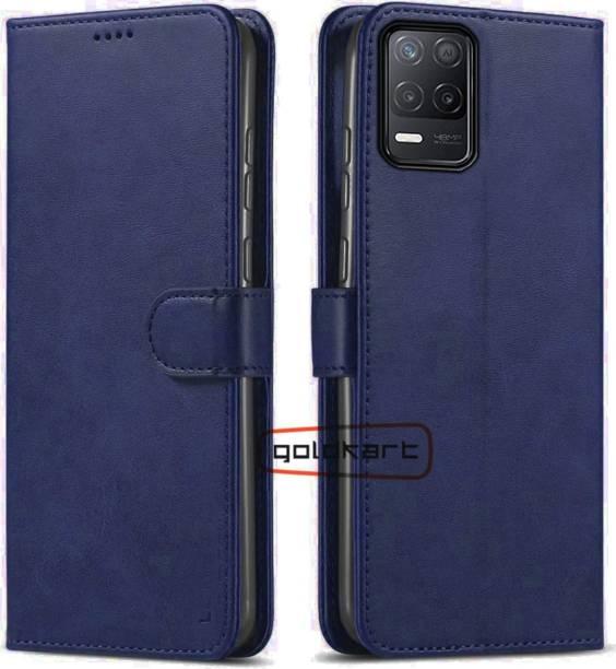 GoldKart Flip Cover for Realme 8 5G