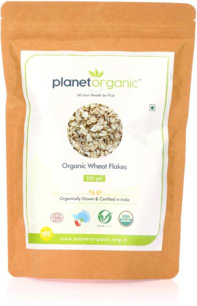Planet Organic India Organic Wheat Flakes
