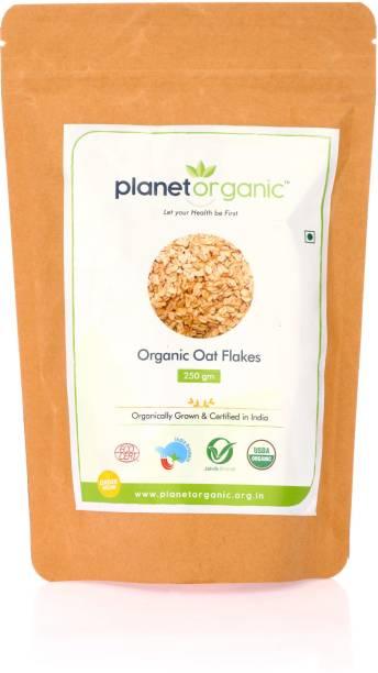 Planet Organic India Organic oat Flakes