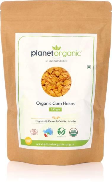 Planet Organic India Organic Corn Flakes
