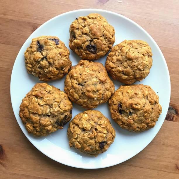 JAINA Organics Honey Oats Cookies | Eggless Cookies | Homemade Biscuits Cookies