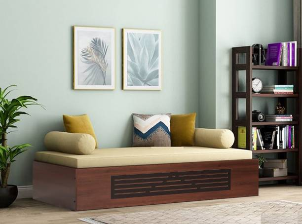 TREVI Primus Bed With Storage Engineered Wood Single NA Bed