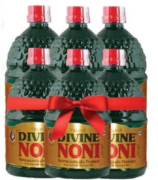 Divine Noni Juice Gold 400 ml, 6 Pack, Noni Health Drink, Great Immune Booster