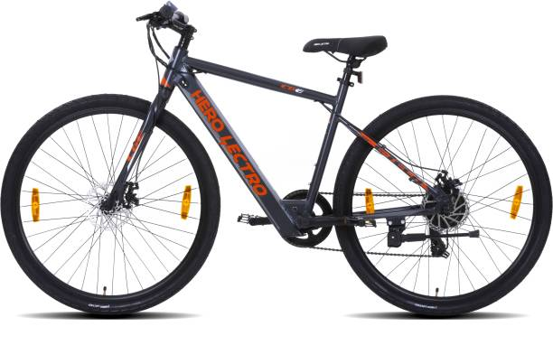 Hero Lectro C6E 700C inches 7 Gear Lithium-ion (Li-ion) Electric Cycle