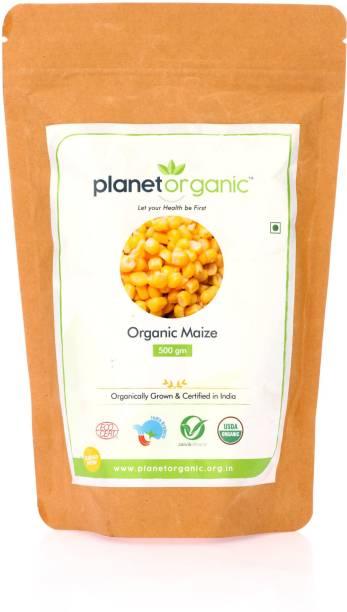 Planet Organic India Organic maize Wholw