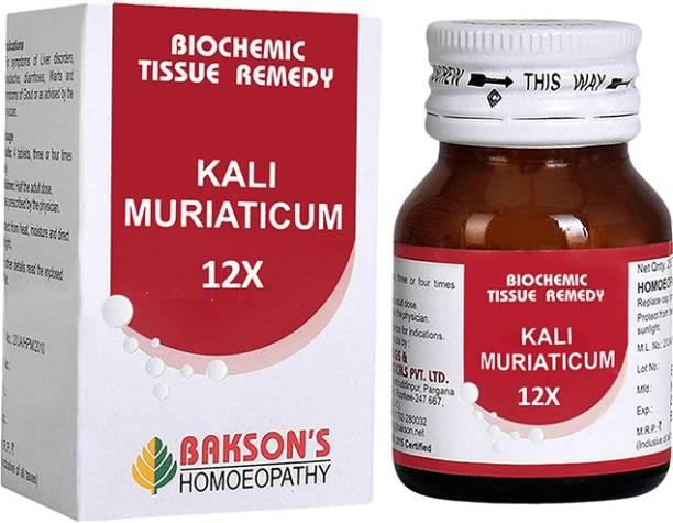 Bakson's Homoeopathy Kali Muriaticum 12X Tablets
