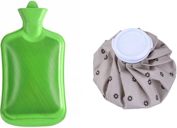 Antil's 2L Hot Water Rubber bag & Cold Water Ice Bag Combo for Pain Relief Therapy Non Electric 2 L Hot Water Bag
