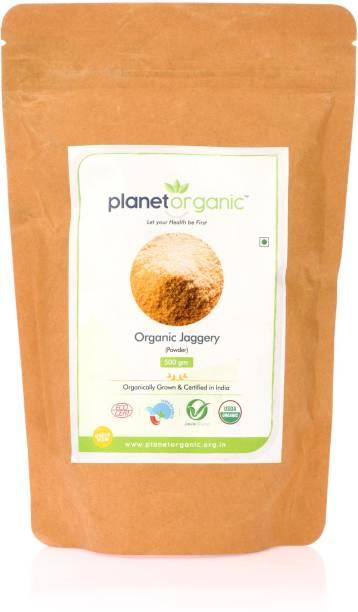 Planet Organic India Organic Jaggery Powder Powder Jaggery