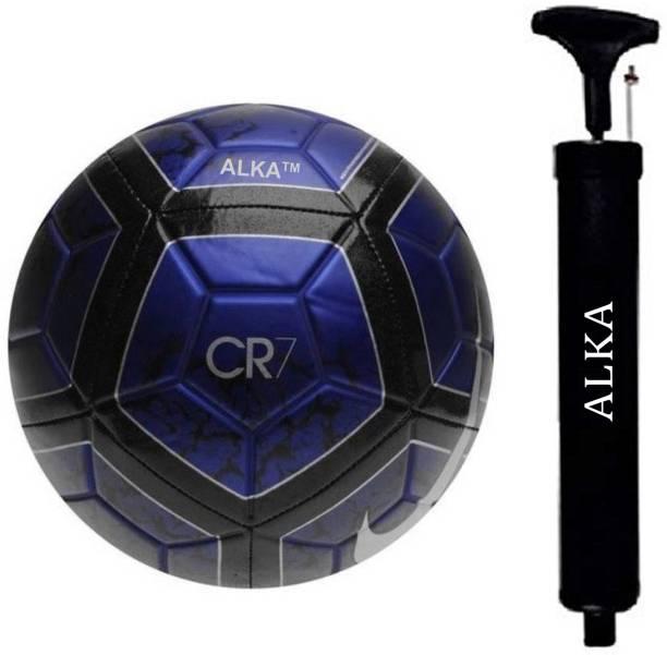 ALKA COMBO CR- 7 FOOTBALL WITH AIR PUMP Football Kit
