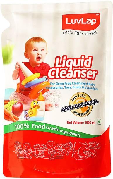 LuvLap Baby Bottle Cleanser Refill Pack Liquid Detergent