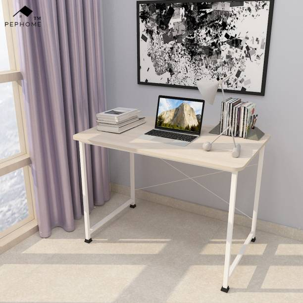 PEPHOME PH-2A Multipurpose Study Table, Office Table, Laptop Table, Computer Table, Workstation Table, Computer Desk, Study Desk, Office Desk, Writing Table, Work from Home Table, 100x60x75CM, Engineered Wood Study Table