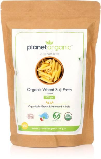 Planet Organic India Organic Suji Pasta Penne Pasta