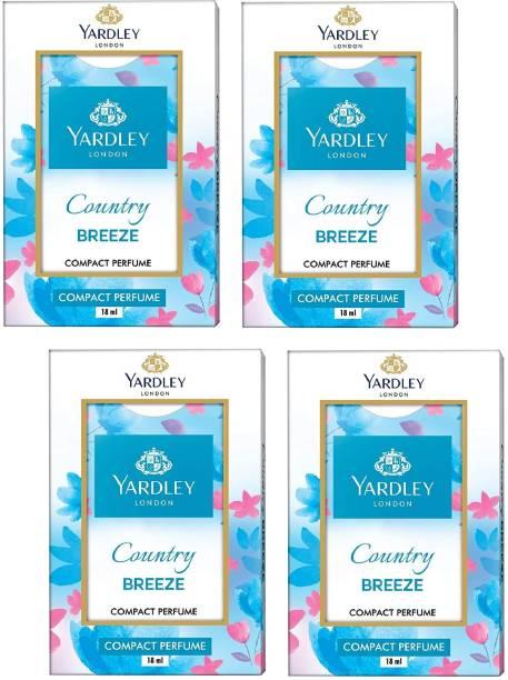 YARDLEY COUNTRY BREEZE POCKET PERFUME 18ML EACH PACK OF 4 Perfume  -  72 ml