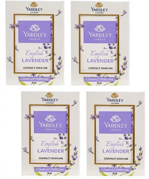 YARDLEY LAVENDER POCKET PERFUME 18ML EACH PACK OF 4 Perfume  -  54 ml