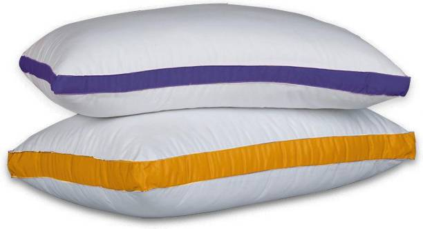 Sleepwell Polyester Fibre Stripes Sleeping Pillow Pack of 2