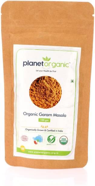 Planet Organic India Organic Garam masala