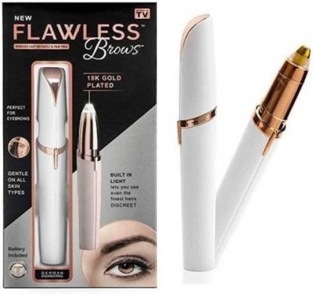 Eliq Painless Face Hair Remover Upper Lip, Chin, Eyebrow Trimmer Shaver Machine for Women  Runtime: 60 min Trimmer for Women