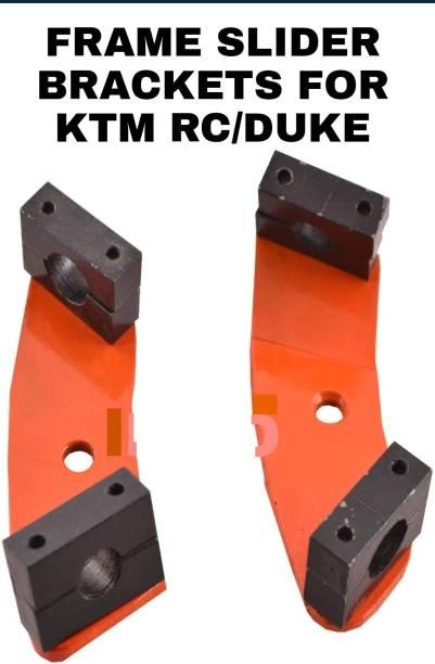 imad FRAME SLIDER BRACKET FOR KTM RC/DUKE (ONLY BRACKET) Bike Crash Guard