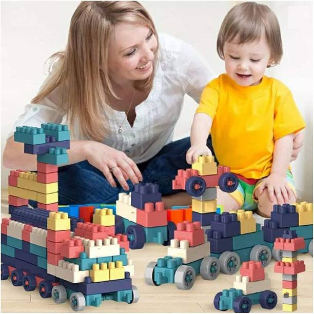 PRESENTSALE Building Block Set Multicolor Blocks for Toddlers and Kids, Building Block for Boys and Girls ,200 Pieces