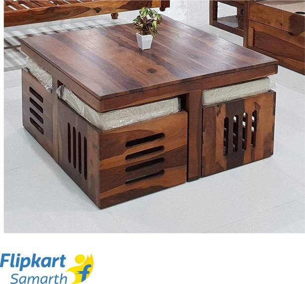 Divine Arts Sheesham Wood Solid Wood Coffee Table