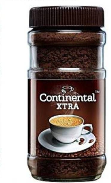 CONTINENTAL Coffee Xtra Instant Coffee Powder, 200Gm Jar (Pack of 1) Instant Coffee