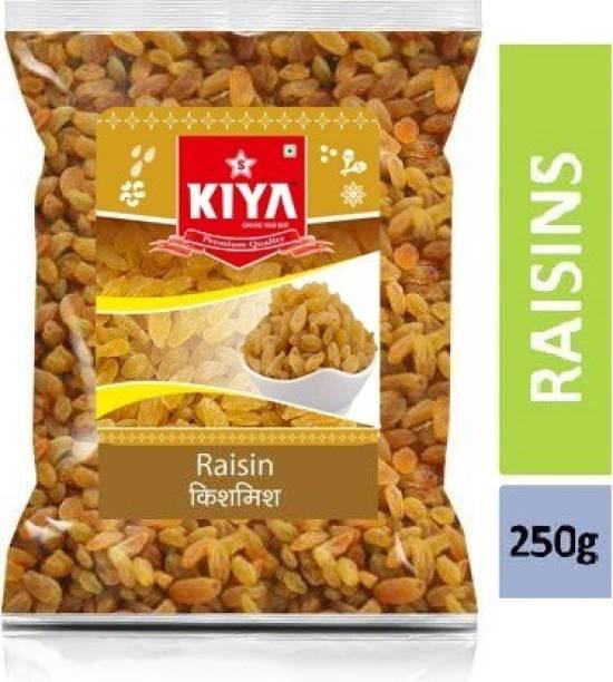 KIYA Golden Raisins / Kishmish / Kismis Green dried 250g Raisins