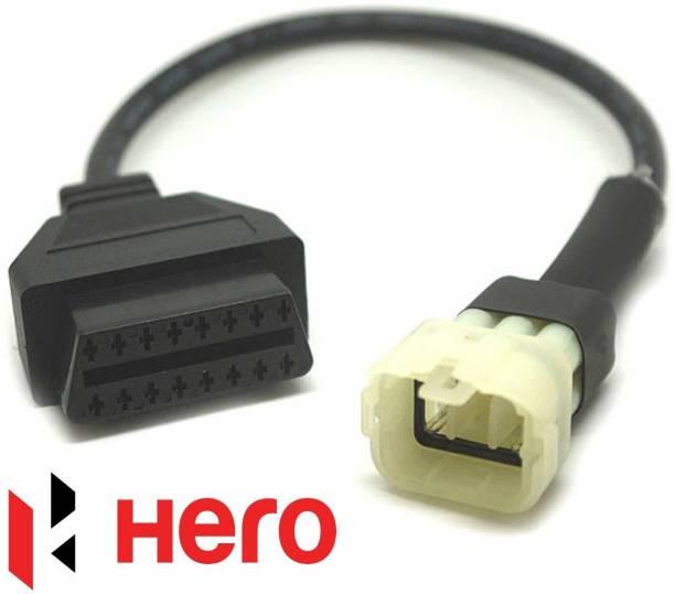 Xsentuals OBD-II (OBD2) 16 pin to 6 pin for HERO bikes OBD Interface