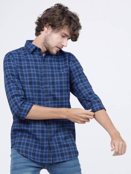 KETCH Men Checkered Casual Multicolor Shirt