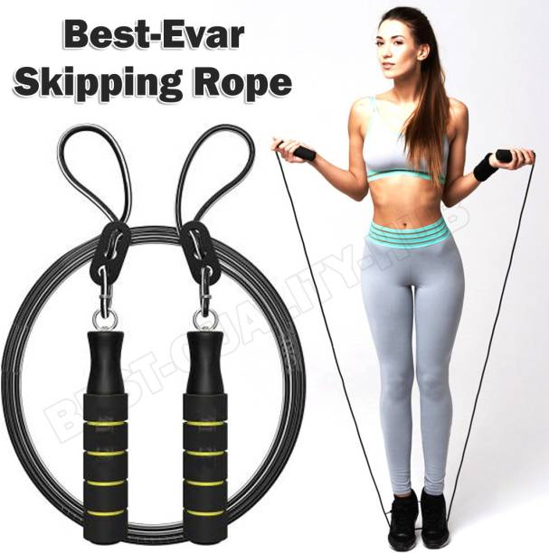 Best-Quality-Hub Skipping Rope Jump rope For Men Women Best in Weight loss Ball Bearing Freestyle Skipping Rope