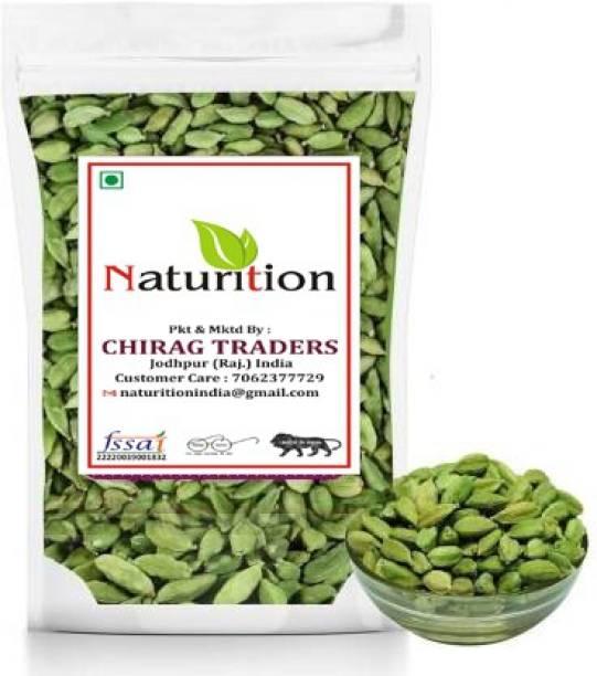 NATURITION Green Cardamom (Medium size) | Elaichi |Hari Ilachi (1 kg)