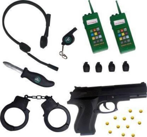 VEDANSHI POLICE COMMANDO KIT Guns & Darts