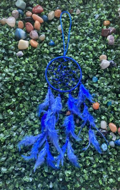 Ryme Car and Wall hanging Handmade Dream Catcher (Can be Used as Home Décor Accents, Wall Hangings, Garden, Car, Outdoor, Bedroom, Key Chain) Wool Dream Catcher
